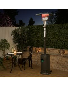 Gas Patio Heater - Charcoal
