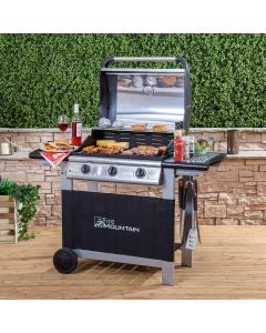 Everest 3 Burner Gas Barbecue