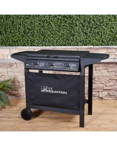 Fire Mountain 3 Burner Party Gas Barbecue