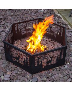Wildlife Fire Pit Ring